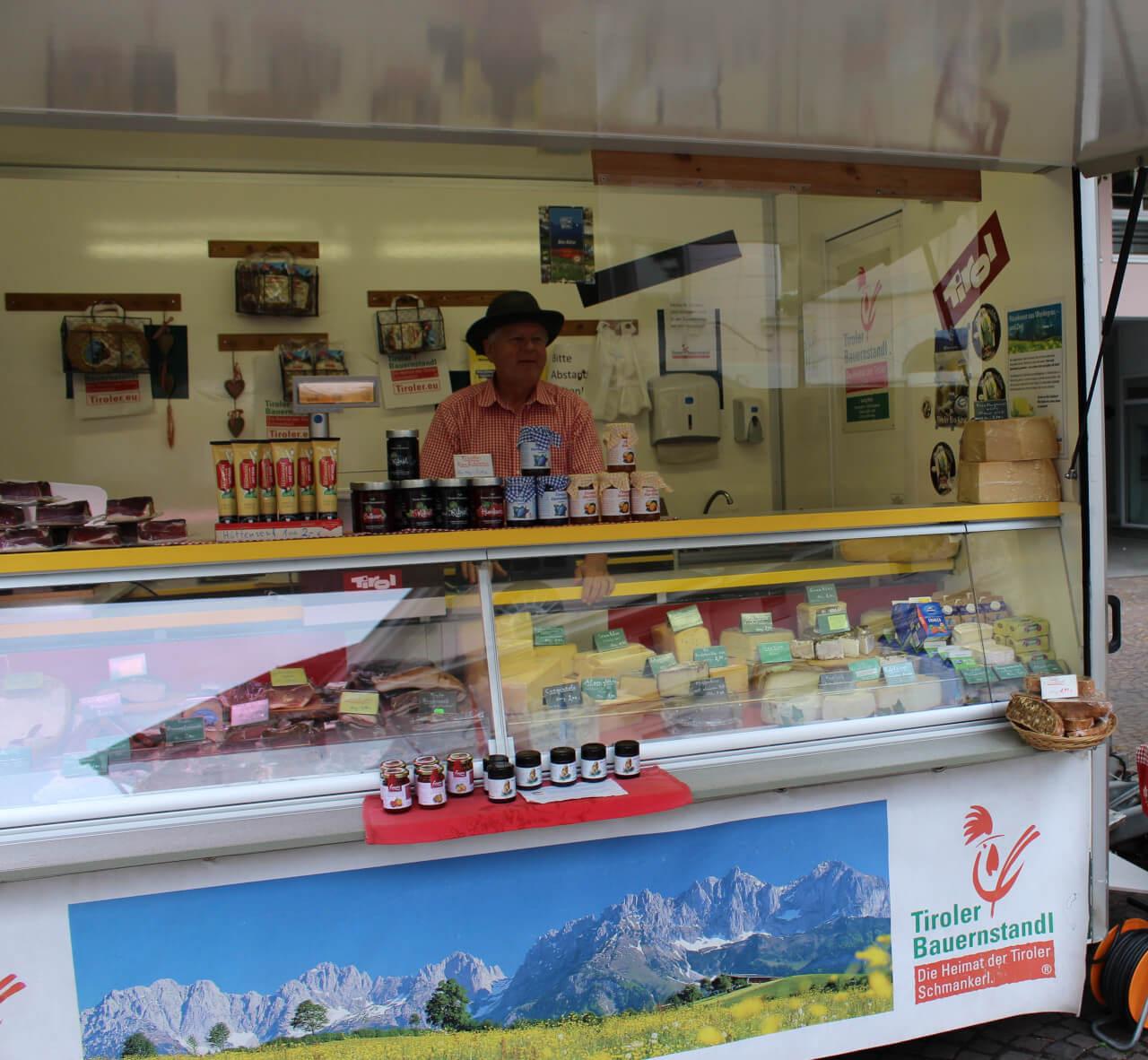 Wochenmarkt in Remagen am Rhein