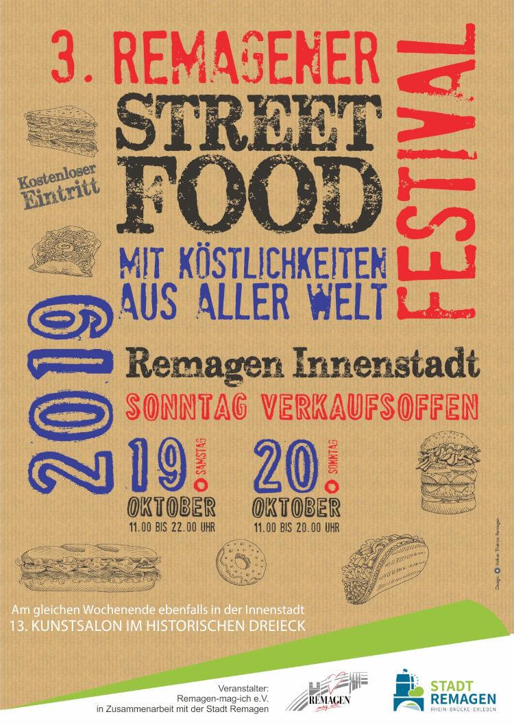 Das Streetfood-Festival in Remagen