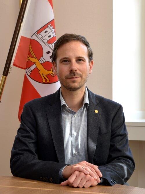 Björn Ingendahl, Bürgermeister der Stadt Remagen